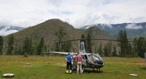 Вертолётные экскурсии к Белухе