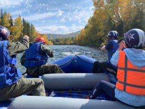 Сплав по реке Кокса